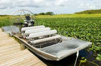 Aventura em aerobarco por Everglades em Miami com passeio de barco por Biscayne Bay #viagem #turismo