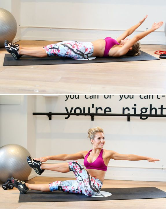 Flat Abs Workout: Abs are my favorite thing to work out, and these are great!