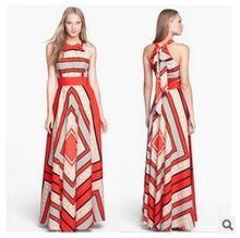 2015 новый летний стиль сексуальная клуб женщины распечатать платье из шифона свободного покроя чешского долго макси элегантный ну вечеринку платье x0401(China (Mainland))