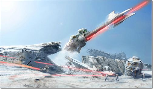 Star Wars: Battlefront Online Concept Art Leaks Out Of Slant Six image