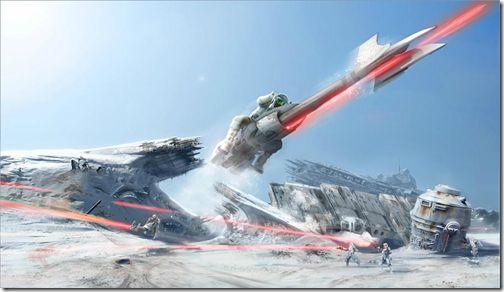 Star Wars: Battlefront Online Concept Art Leaks Out Of Slant Six image
