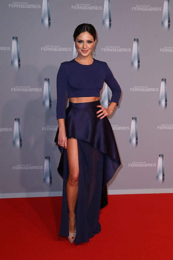 Nazan Eckes beim Deutschen Fernsehpreis