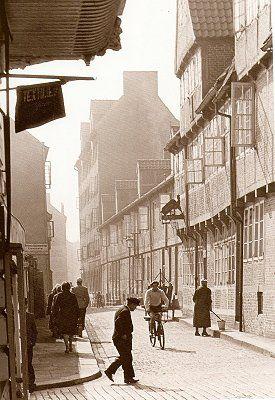Gängeviertel, Hamburg vor 50 Jahren (Walter Lüden)
