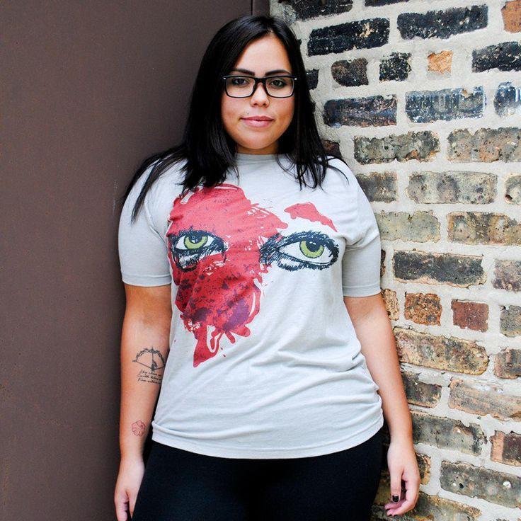 """- Clotheslined Apparel - Vintage Blend Soft T-shirt Candice LeRae """"Blood"""""""