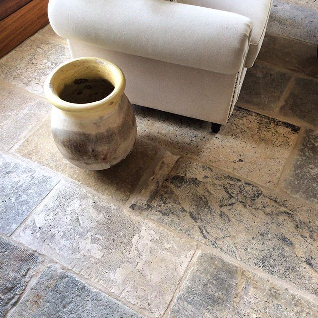 Reclaimed Limestone Flooring Alyssamyers