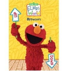 Elmo's World: Opposites - Age 2 and up - DVD - Kids will love to join Elmo as he explores the world of opposites in this fun and educational video.