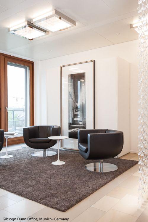 Lounge meeting room ! With a custom #BotanicRain curtain designed by Ross Lovegrove  And some #Altrove 600 ceilings #design Carlotta de Bevilacqua