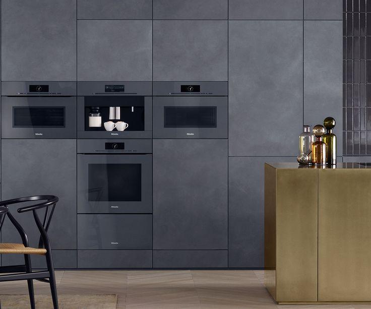 Keukentrend 2017: greeploze inbouwapparaten zoals de innovatieve Artline van Miele met sensortoets #keuken #oven #innovatief