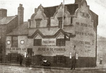 The White Horse, Ilkeston Road Radford c1906