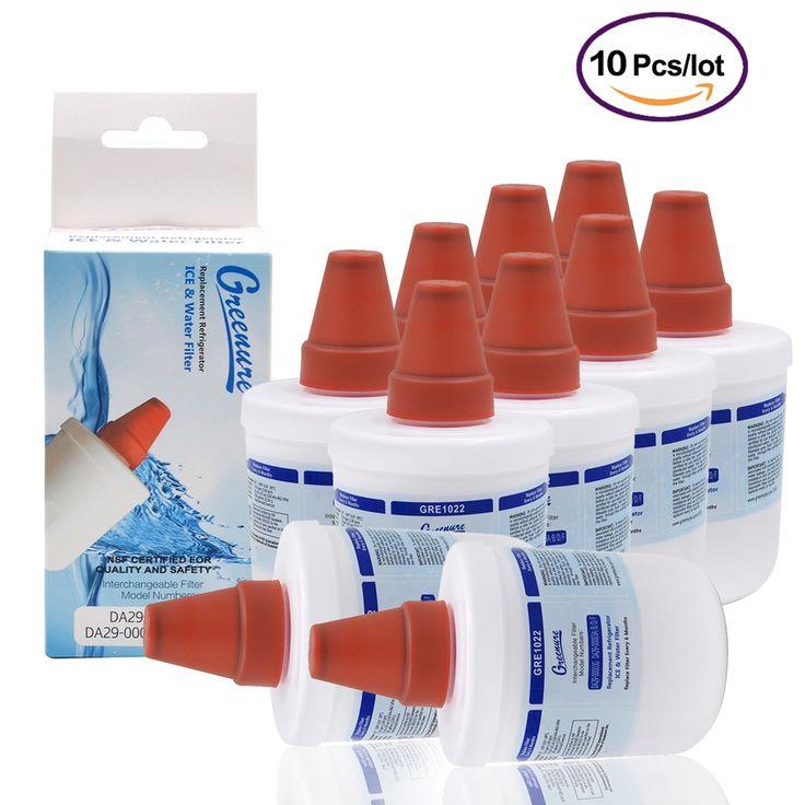 147.56$  Buy here - http://aliq7o.shopchina.info/go.php?t=32683909476 - NEW Greenure GRE1022 Refrigerator Water Filter Replacement for Samsung DA29-000003G/A/B/D/F Aqua-Pure Plus wholesale 10 Pcs/lot 147.56$ #buyininternet