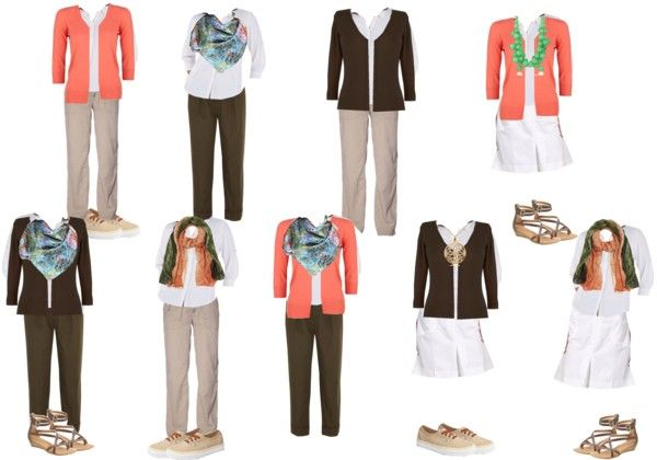 How to Plan a Travel Capsule Wardrobe for Vacation - for more mature ladies.