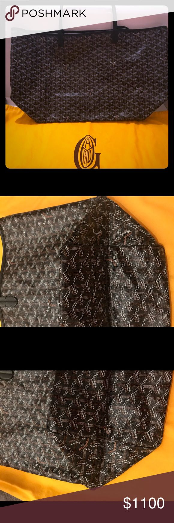 Goyard Saint Louis GM New with tags! Comes with dust bag and Barneys store bag! I paid New York tax on this bag! Goyard Bags Totes