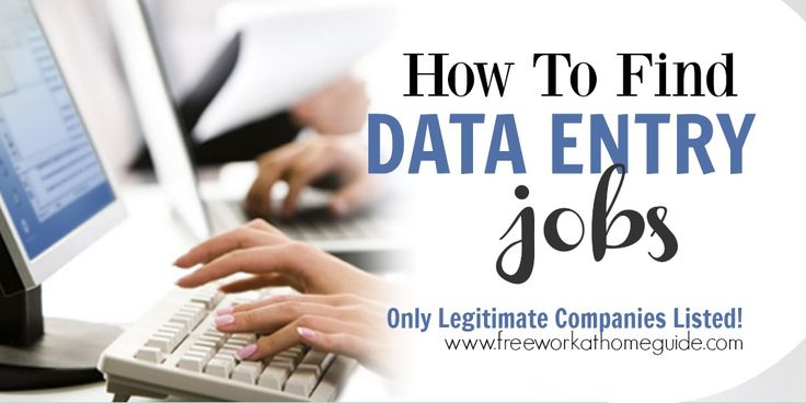 On this page, I have gathered a list of companies that recruit data entry keyers to work from home. If you have prior experience keying in data with a pretty decent typing speed, then this list will benefit you.