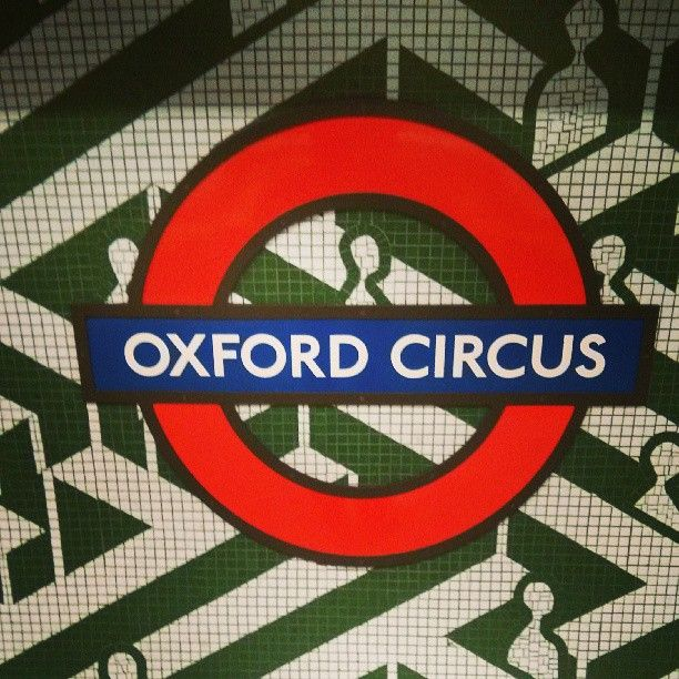 Oxford Circus London Underground Station in London, Greater London