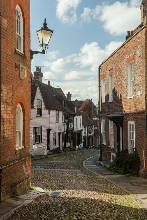 West Street in Rye, East Sussex, England