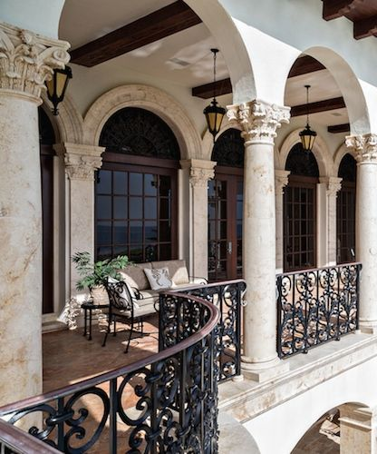 mediterranean spanish architectural accents pinterest