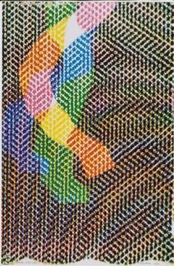 Bruno Munari: xerografia originale 1980
