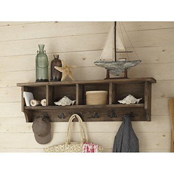 The Foxford Reclaimed Wood Entryway Wall Coat Hook With Storage Is A Great  Addition For Your Mud Room, Entryway Or Anywhere Else You Need More Storage  And ...