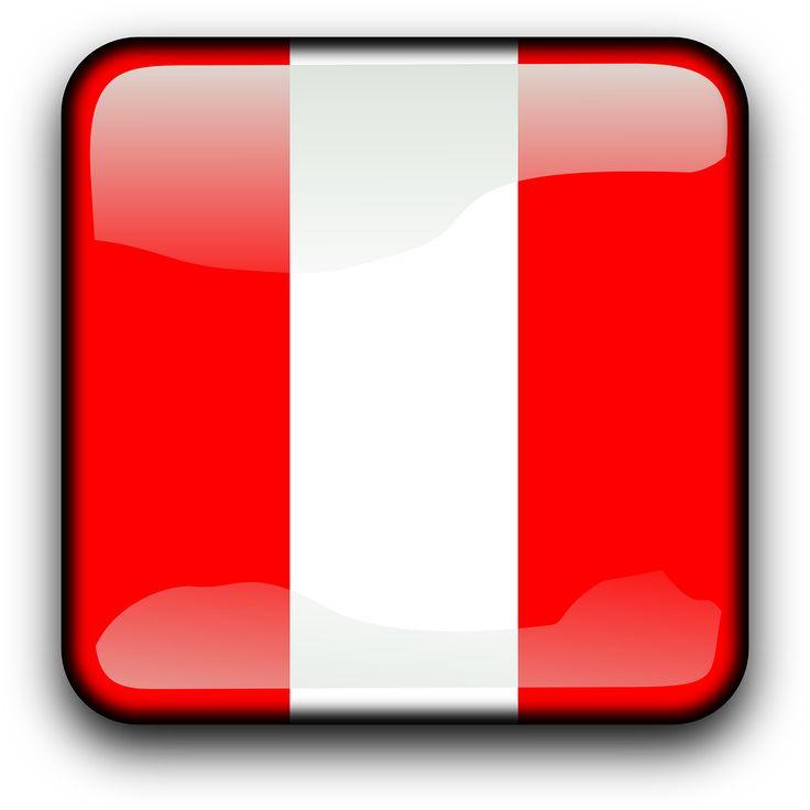 Peru Flag Country Nationality transparent image