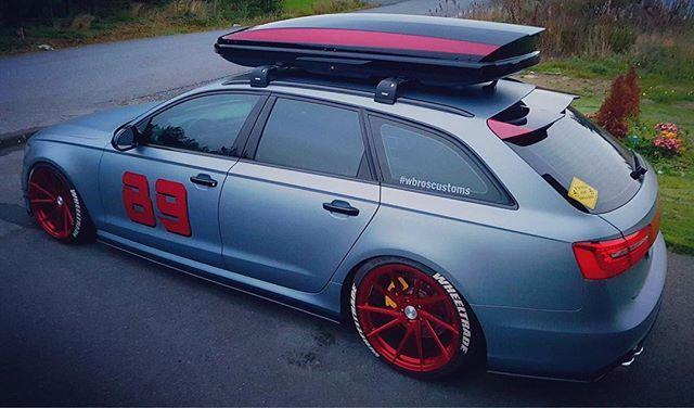 @wbroscustoms 's Audi A6! #wagonlifestyle #wagon #hatchback #awd #subaru #audi #bmw #VW #saab #ford #mazda #dodge #jdm #rally