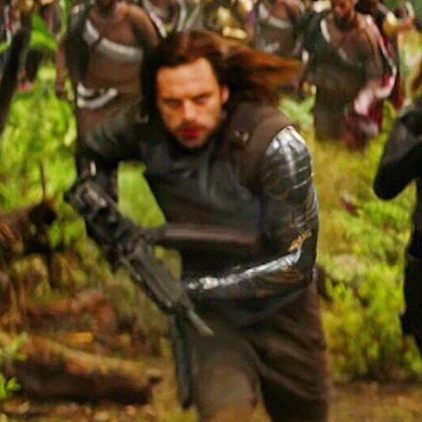 King T'Challa hooked him up properly  Bucky's new arm has