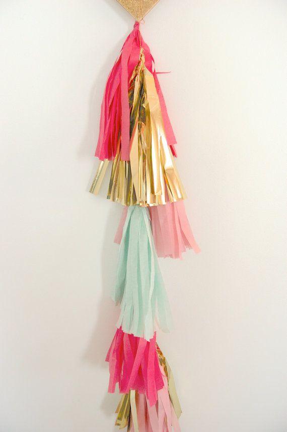 how to make balloon fringe tassels
