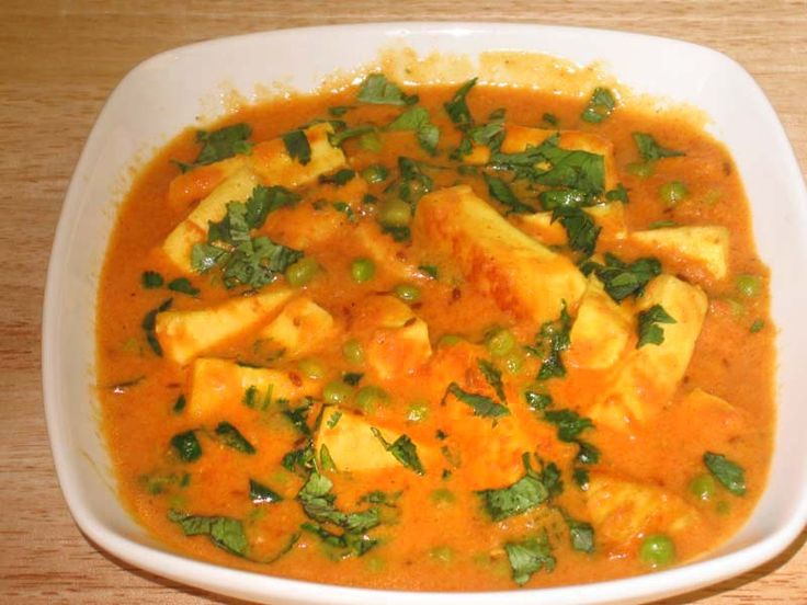Butter Paneer Masala is a rich entre made with Indian cheese and a creamy sauce. This dish is tasty when served over white rice or with Naans or Tandoori Rotis.