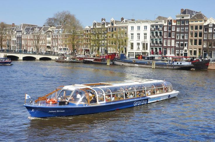 The #1 Canal Cruise will show you all Amsterdam's highlights in one hour with personal audio in your own language with Tourboks!