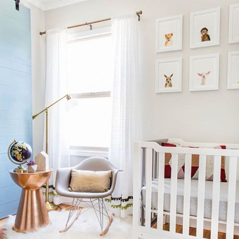 Still swooning over @eastcoastcreative's nursery makeover with the Lowe's team! Can you believe this project was completed in only 24 hours!? Head over to @eastcoastcreative for all the details.