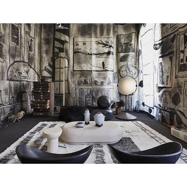 The Drawing Room by Faye Toogood @somersethouselondon @l_d_f_official Amaze!!