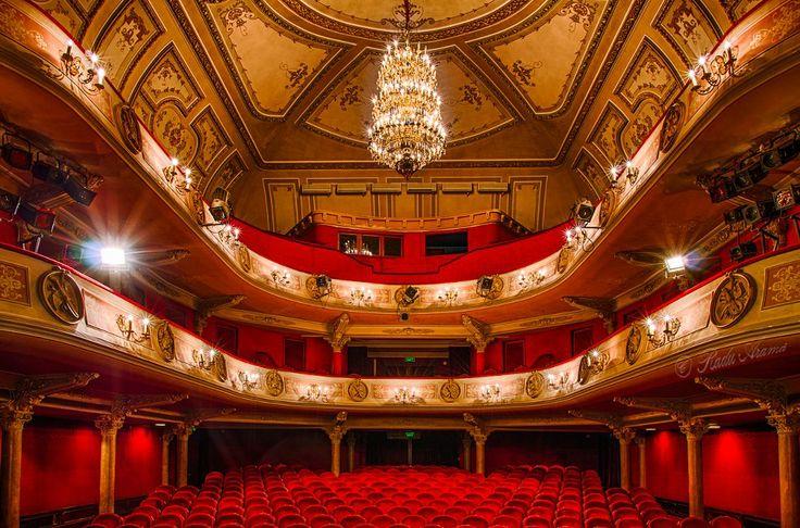 Maria Filotti Theatre, Braila, Romania (by Radu Arama)
