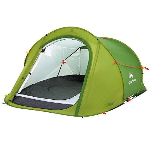 Best Camping Tents  | Quechua 2 Seconds Waterproof Pop Up Camping Tent Easy to Assembly for 2 Man GreenQuechua 2 Seconds Waterproof Pop Up Camping Tent Easy to Assembly for 2 Man Green *** Find out more about the great product at the image link. Note:It is Affiliate Link to Amazon.