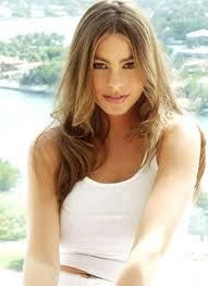 Columbian actress Sofia Vergara is a natural blonde and has to die her hair to brown to look more latina.