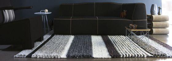 Spinde interieur zwolle perletta carpets vloerkleden wol streep