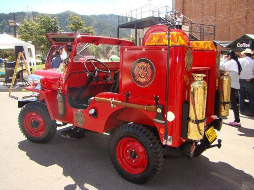 1954 Willys CJ-3B Firefighter - Kaiser Willys photo submitted by German Alberto Gomez Sanchez.