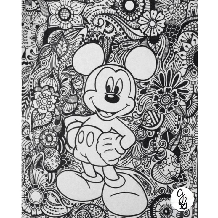 Diseno De Minnie Y Mickey