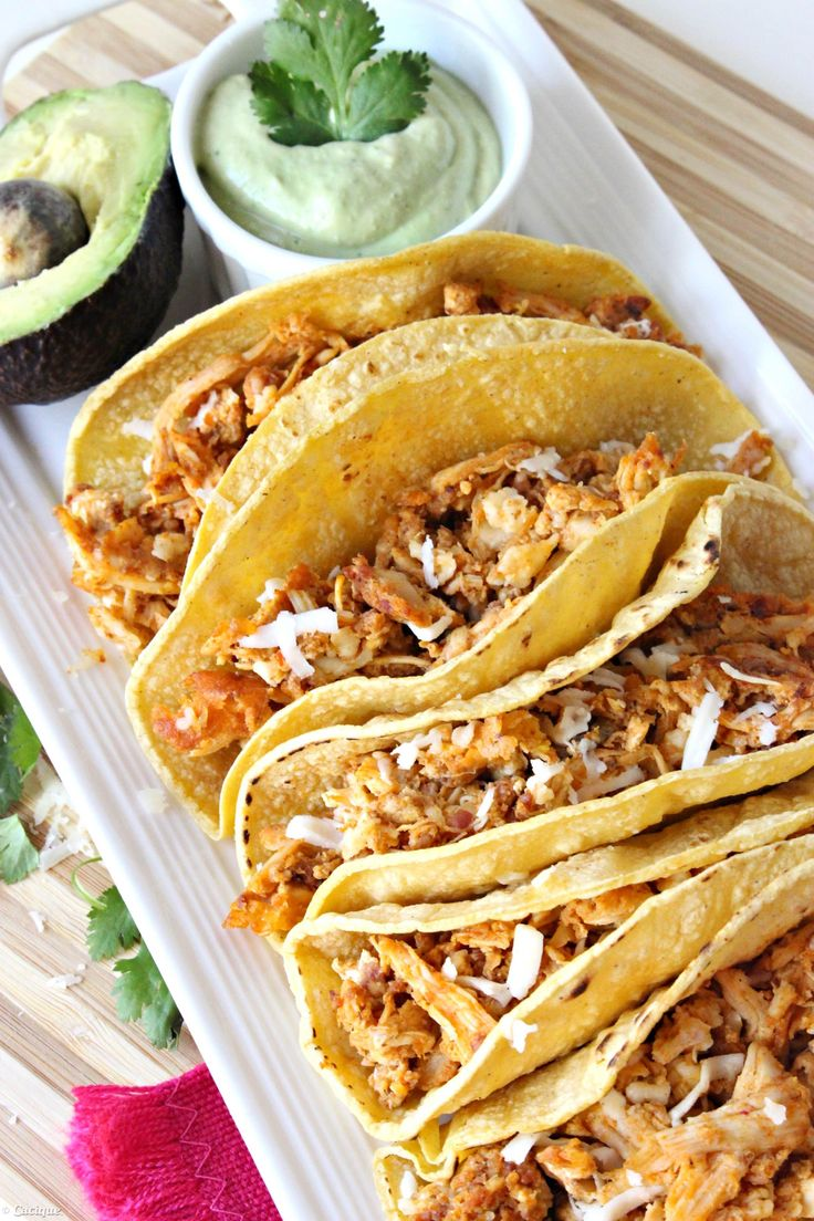 Chicken Chorizo & Egg Breakfast Tacos #GoAutentico