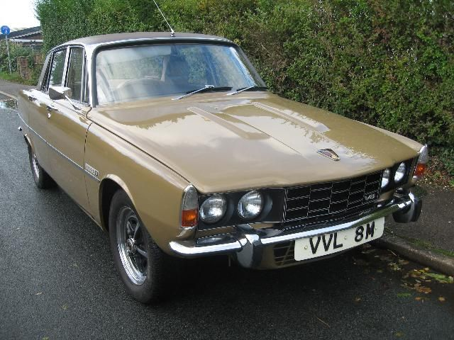 Classic Cars For Sale   Rover P6 3500 S Manual