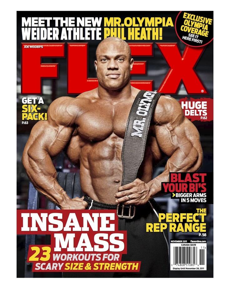 20 best Flex Magazine Covers images on Pinterest  Magazine covers Bodybuilder and Bodybuilding