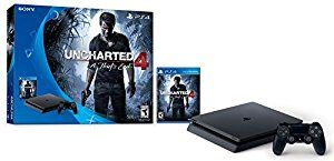 Win PlayStation 4 Slim 500GB Console - Uncharted 4 Bundle