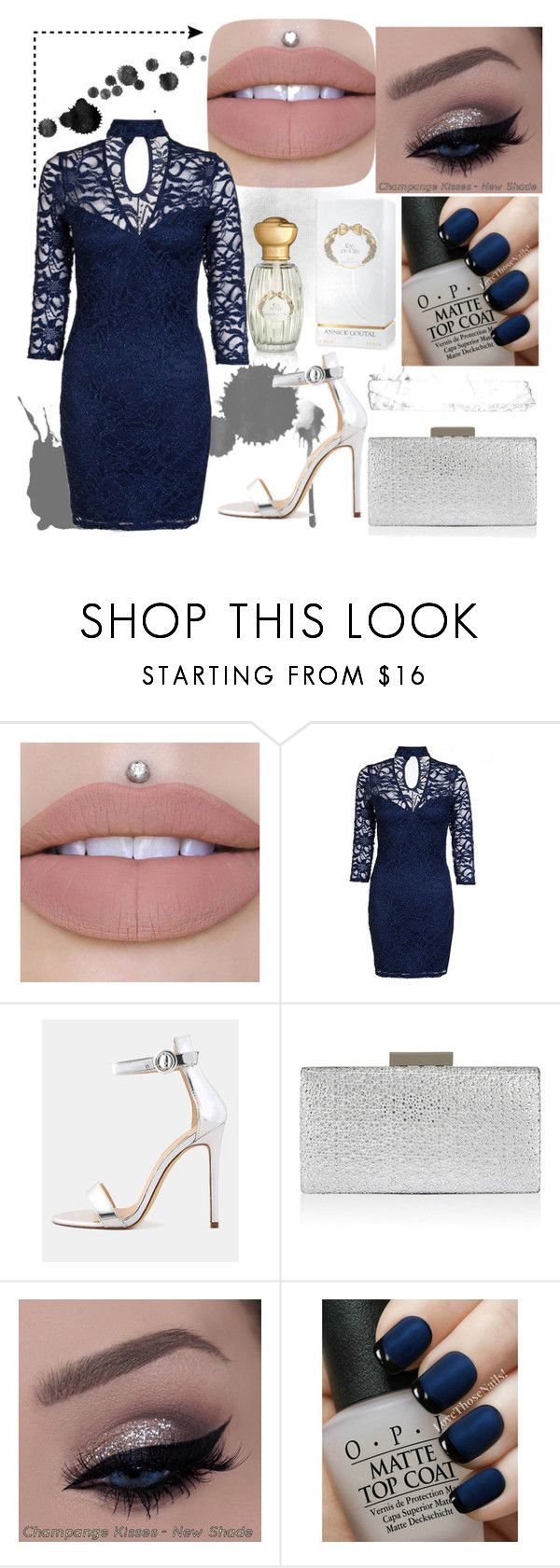 """""""ocaciòn especial"""" by mariapazmarixxd on Polyvore featuring moda, Monsoon, OPI y Annick Goutal"""