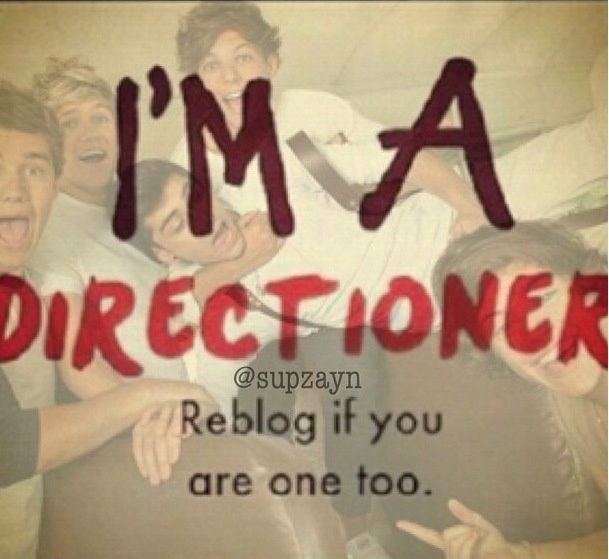 I'm a directioner!!! And I always will be ♥