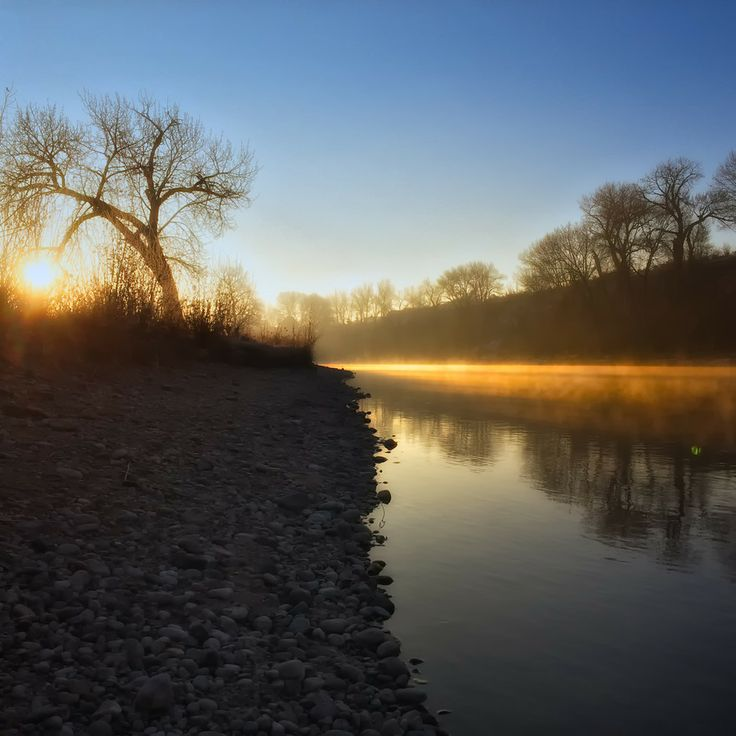 Morning on the Boise River, Idaho by Ron Bearry on 500px