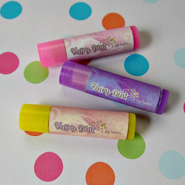 How to Make Homemade Lip Balm for Kids with Glitter