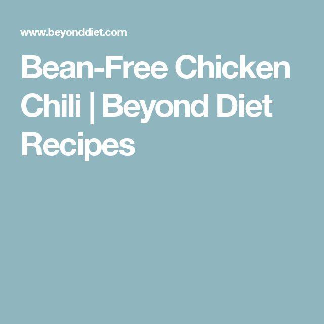 Bean-Free Chicken Chili | Beyond Diet Recipes
