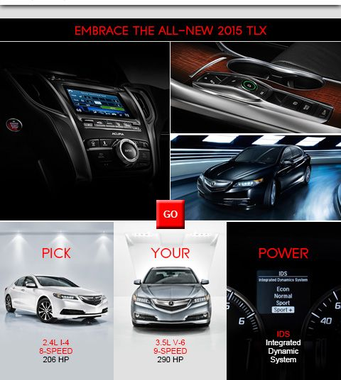 EMBRACE THE ALL-NEW 2015 TLX