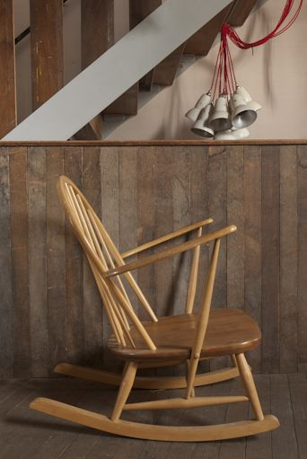 Retrouvius - Ercol rocking chair