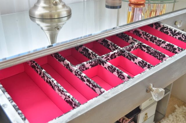 pink so foxy diy drawer organizers i need these for my