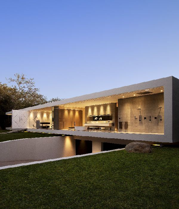 Garage Design Architecture: Home Trends: Transparent Luxury House Design With