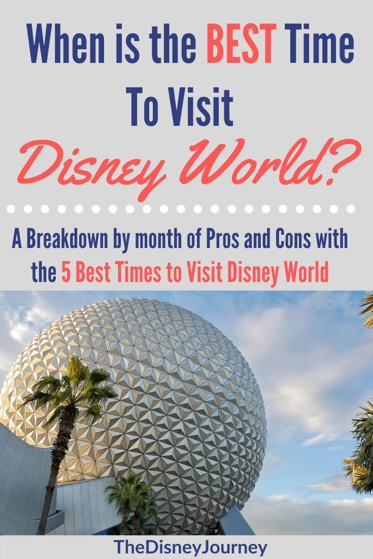 Best Time Of Year To Go To Disney World Disney World Vacation